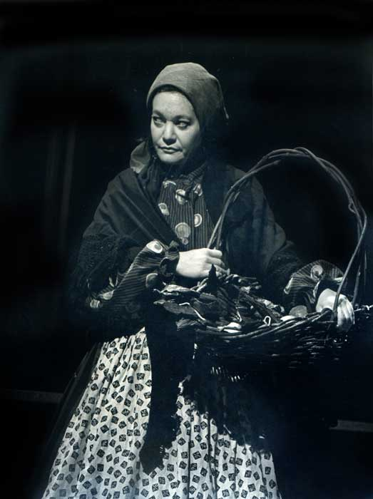 "Rosalie Gerut as ""Mrs. Shlemiel"""