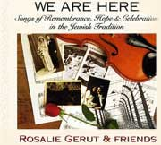 We Are Here CD Cover Art