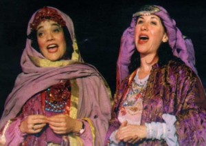 Rosalie Gerut & Betty Silberman in The Orphan Queen