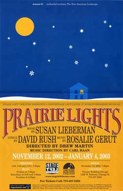 Prairie Lights Poster
