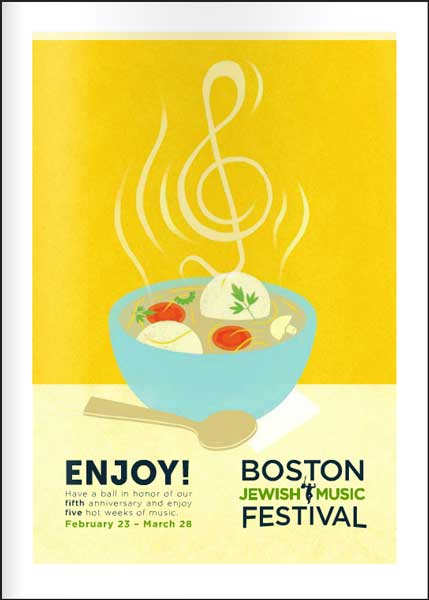 Boston Jewish Music Festival Program 2014